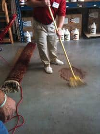 Rug Cleaning Dust